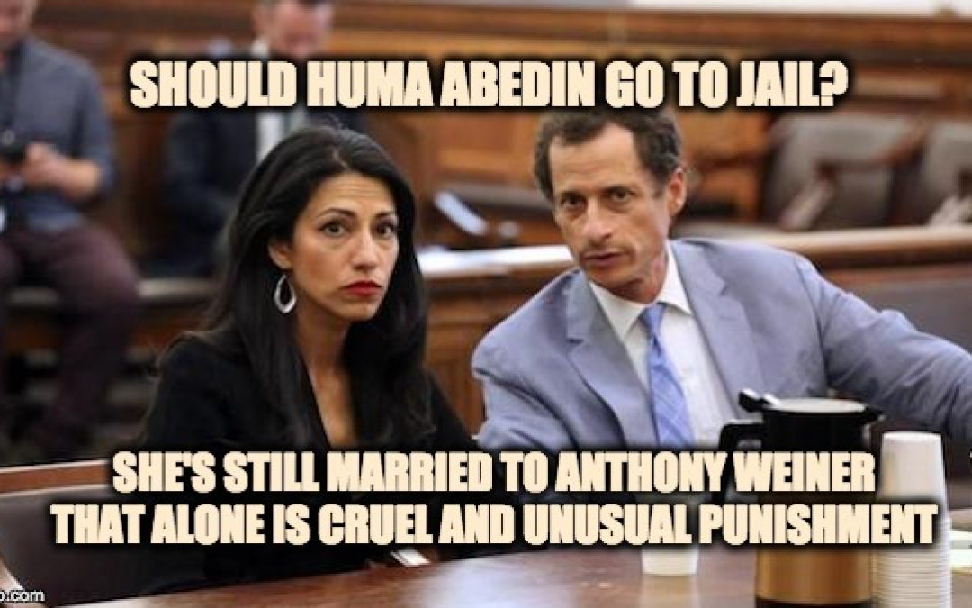 Huma Abedin Sent Classified Info Over Yahoo Mail & Was Probably Hacked