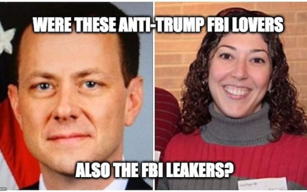 New Text Messages Raise Query: Were Anti-Trump FBI Lovers, FBI Leakers?