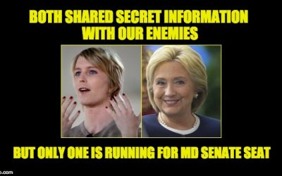 Cop-Hating Traitor/Criminal Files For Senate Race In Maryland (No Not Hillary)