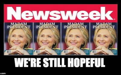 Newsweek Article Says 2016 Election Can STILL  Be Given To Hillary