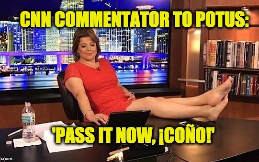 CNN's Ana Navarro Tweets Vulgar Profanity At Pres. Trump
