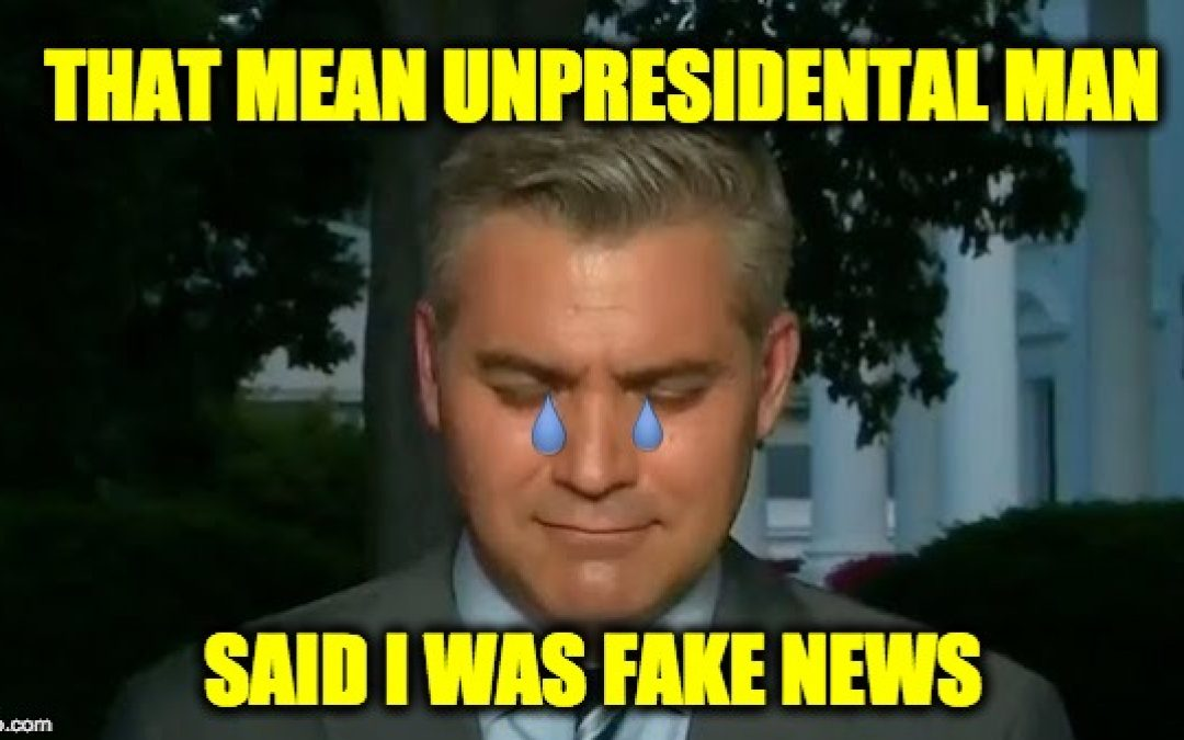 Jim Acosta Believes Trump Doesn't Have Constitutional Rights