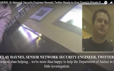 Project Veritas Video: Twitter Elated To Give Trump's DMs & Public Tweets To DOJ