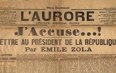 Would Zola Write J'Accuse…!   About Today's Democratic Party?