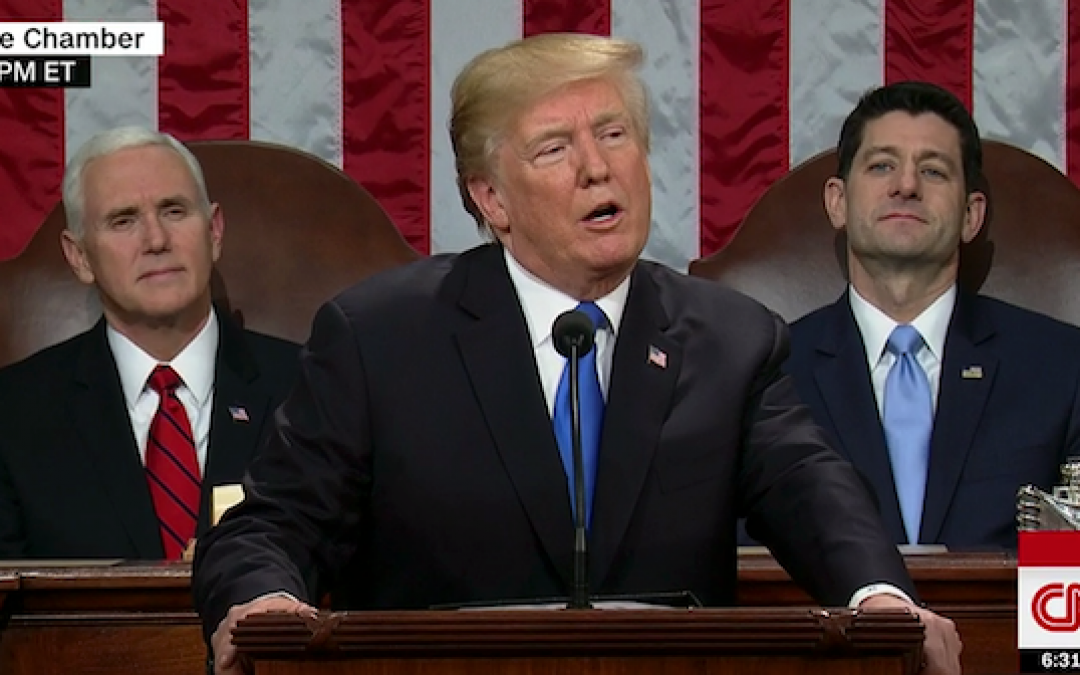 Trump's State of the Union, The Sourpuss Party, And Drool Boy