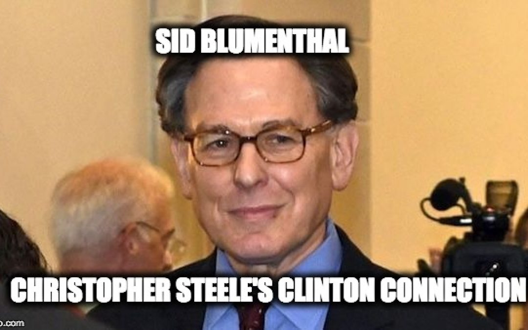 Revised Grassley-Graham Memo Issued- Gowdy Names Blumenthal As Steele's Clinton Source