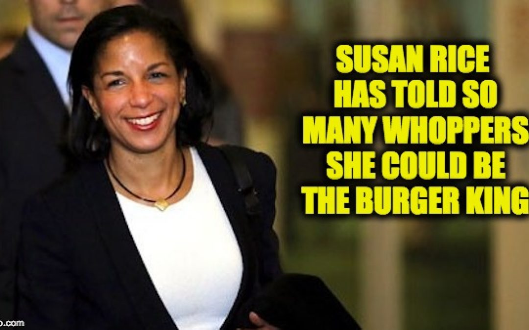 Susan Rice's Strange Email: Note To Self, We Did Nothing Wrong