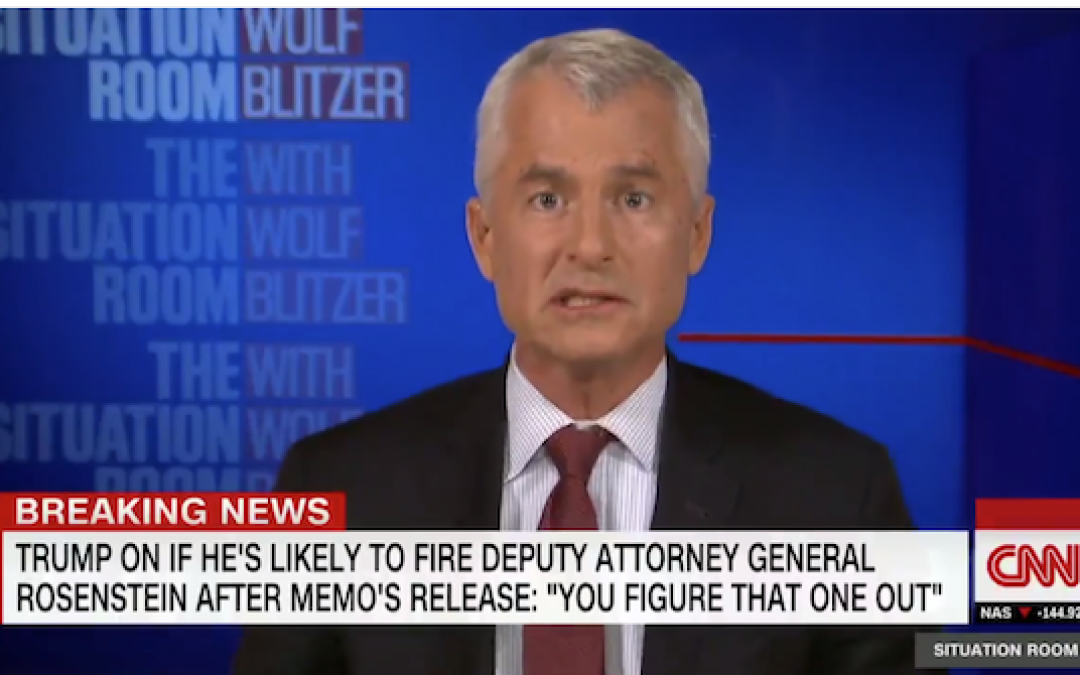 Unpatriotic Wishful Thinking? CNN's Phil Mudd Warns FBI Is Going To Kill Trump
