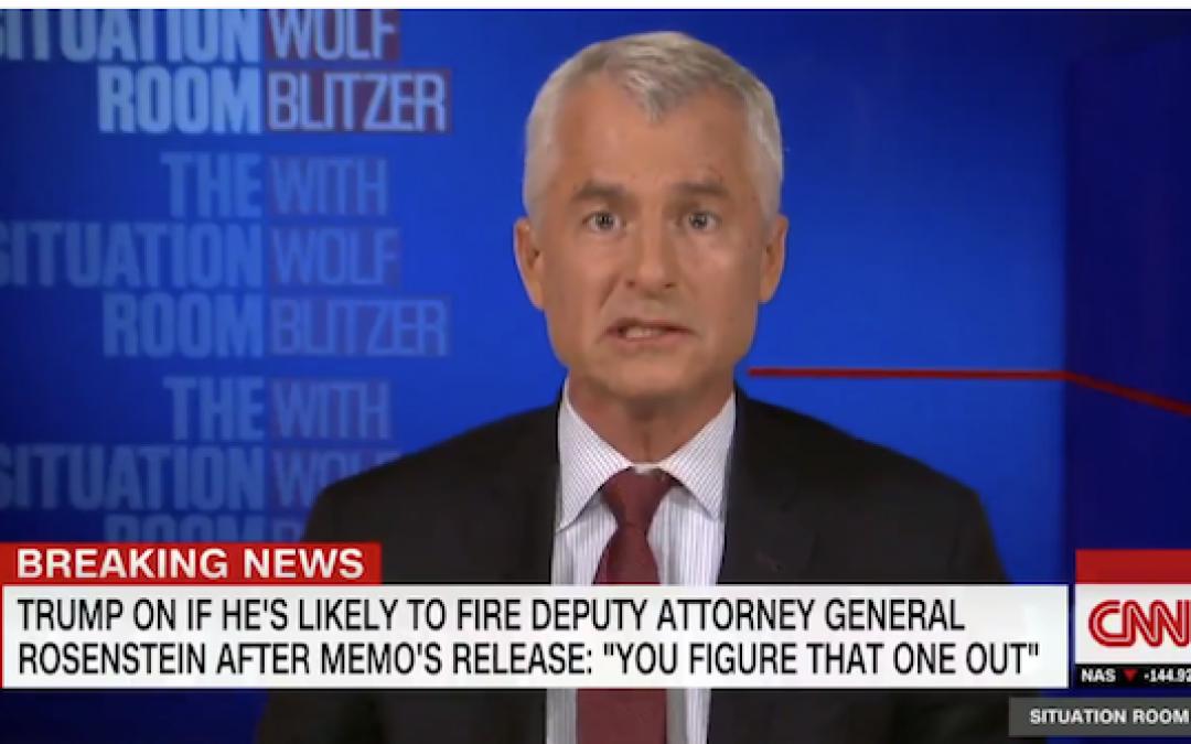 Unpatriotic Wishful Thinking? CNN's Phil Mudd Warns FBI Is Going To Kill Trump