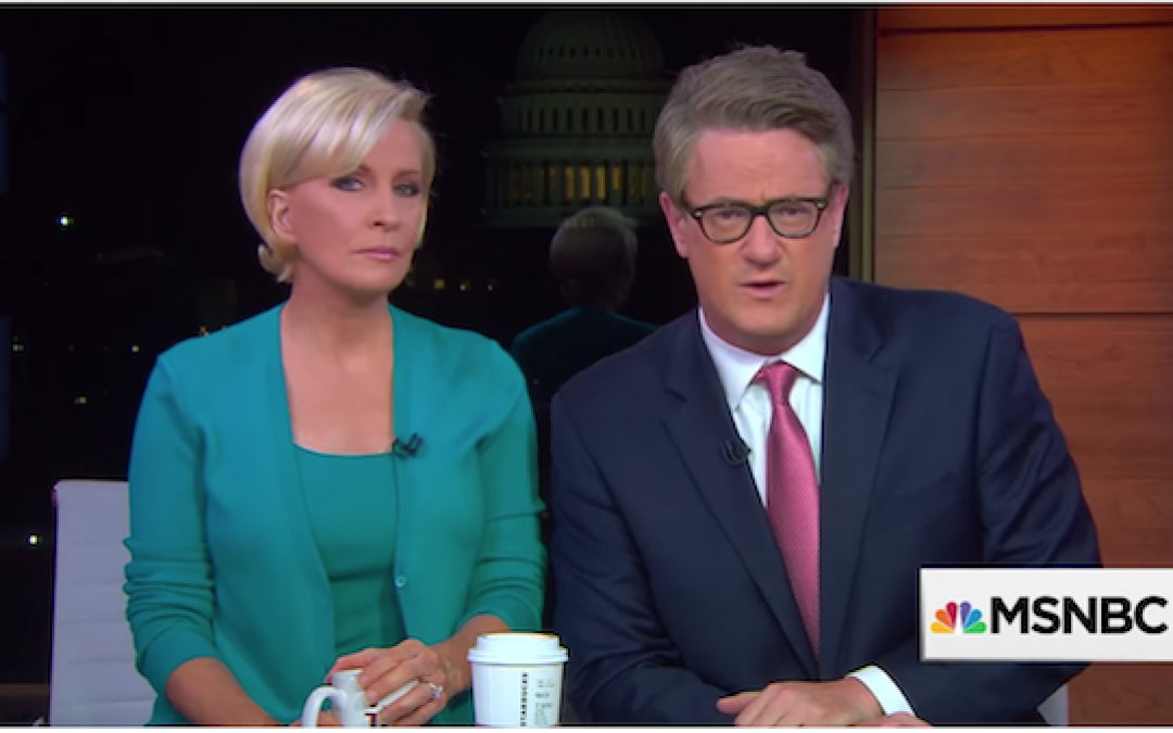 Kidnapped? That Wasn't Joe Scarborough On His Show Today