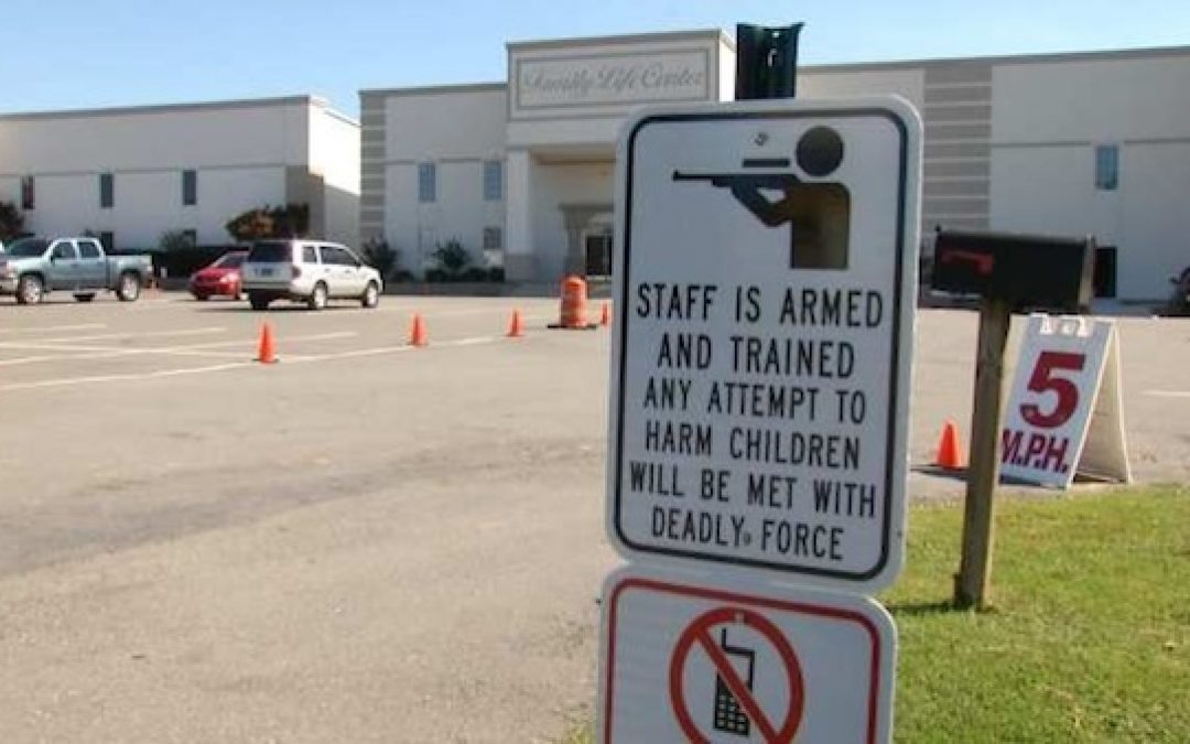 New CA Law: Teachers CAN'T SHOOT BACK If Attacked In School Shooting