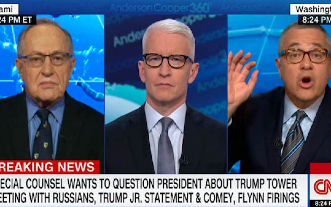 Alan Dershowitz Slams CNN's Legal Analyst Jeffrey Toobin For Anti-Trump Bias