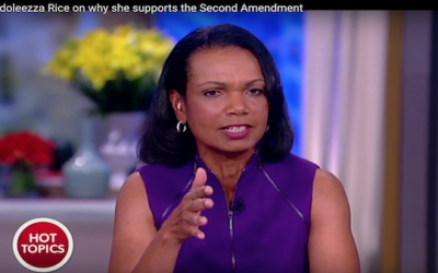 Condoleezza Rice's Powerful Story Of Why She Supports Second Amendment