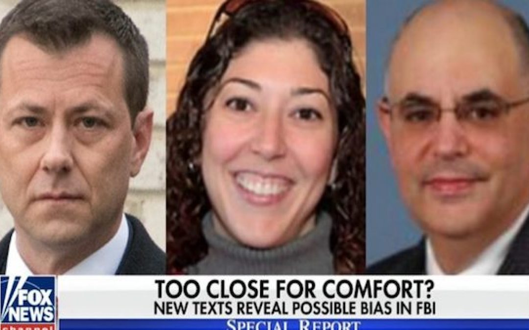 BOMBSHELL: Peter Strzok Tried To Use Personal Relationship W/ Recused Judge On Flynn Case