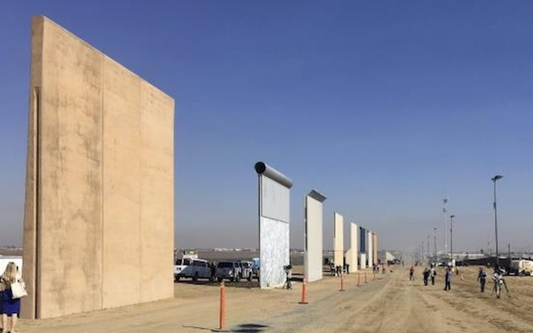 Pelosi Whines,  But Proposed Wall Is High To Protect Mexicans