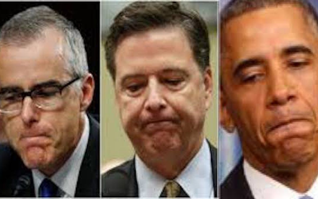 The REAL Russia Collaborators: McCabe, Comey, Obama & Corrupt FBI Leadership