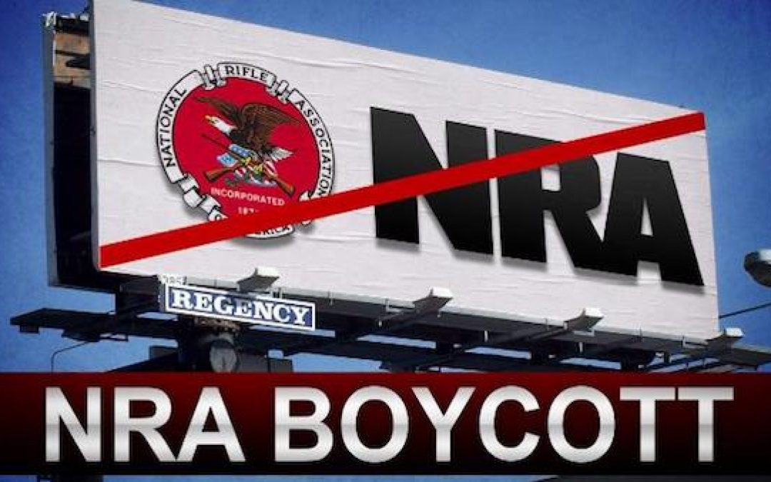 NRA Boycotting Companies Are Crashing and Burning