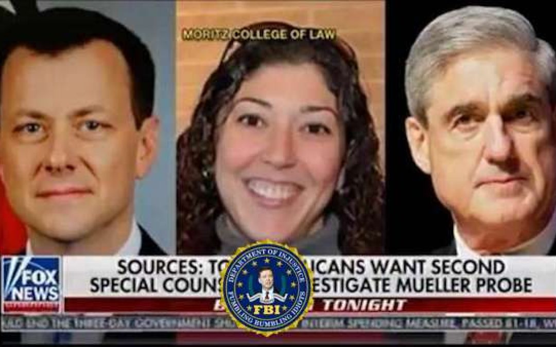 Shocking New Texts from Disgraced Anti-Trump FBI Lovers Strzok-Page