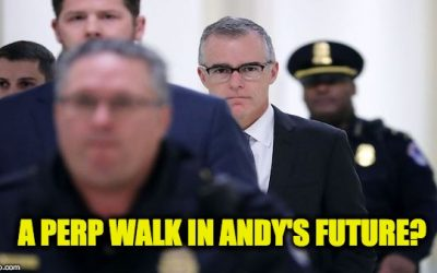Justice Dept. Inspector General Wants Andrew McCabe Prosecuted