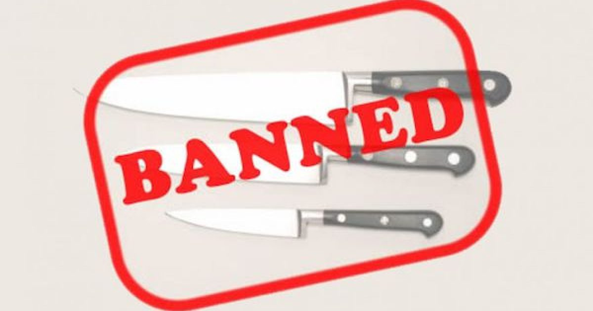 London Bans Knives