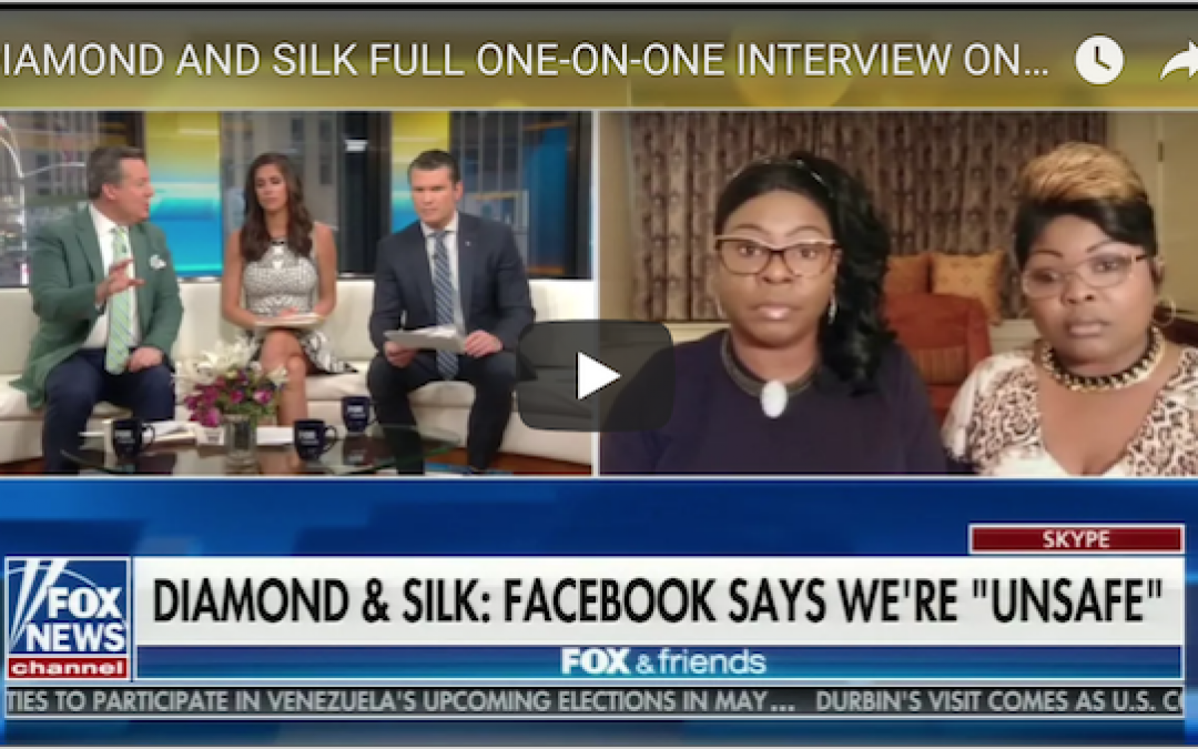 The NOT Dangerous Diamond And Silk Fight Back Against Facebook Attack