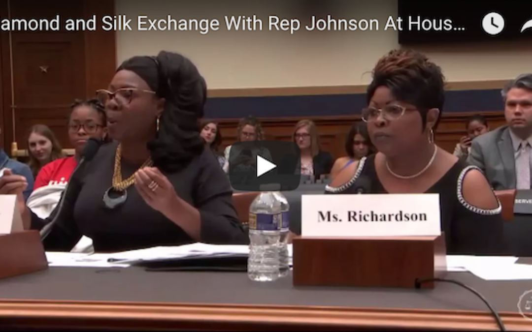 Diamond and Silk Destroy Democrat for Defending Facebook Censorship