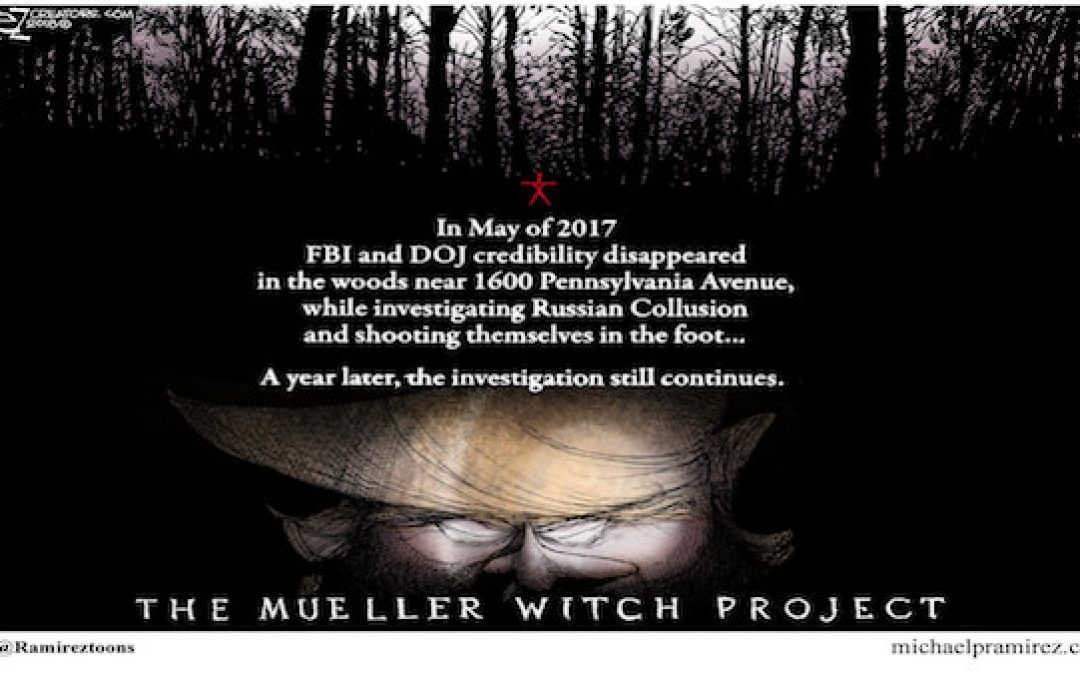 Did Mueller Just Prove The FBI/DOJ Illegally Colluded With Democrats In 2016?