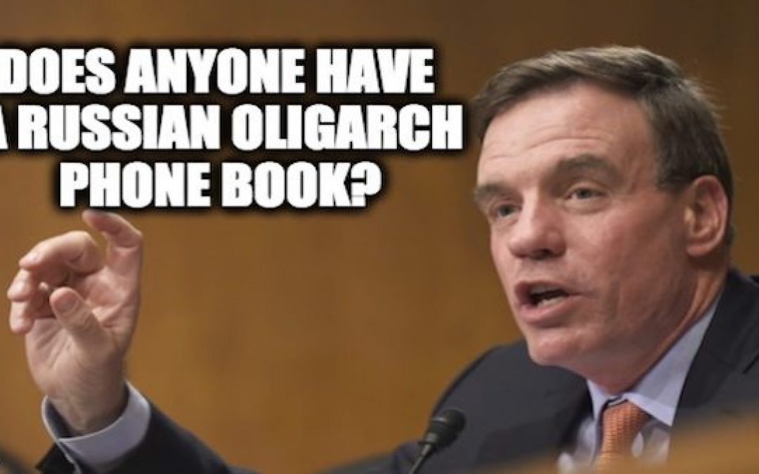 Russian Oligarch Tied To Mueller Also Tied To Democratic Sen. Mark Warner
