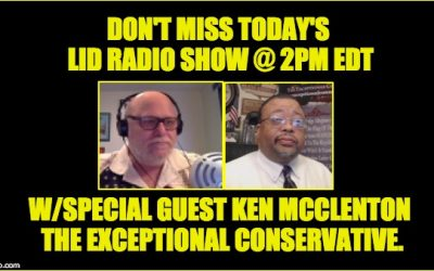 Today @ 2PM EDT: The Lid Radio Show W/Special Guest Ken McClenton