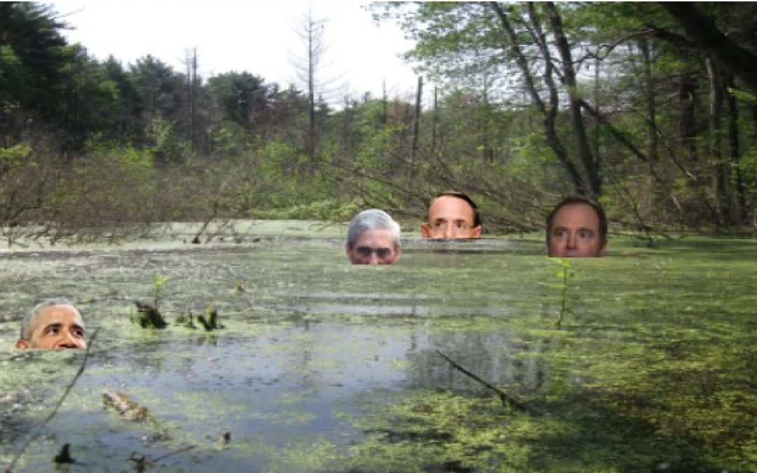The Swamp Water At The Justice Department Is Rising And Getting Filthier