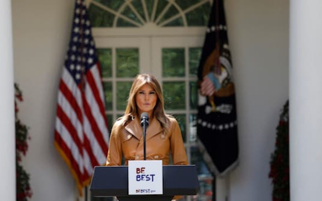 Melania Trump's 'Be Best' Kids Campaign Inspires Liberal Hate