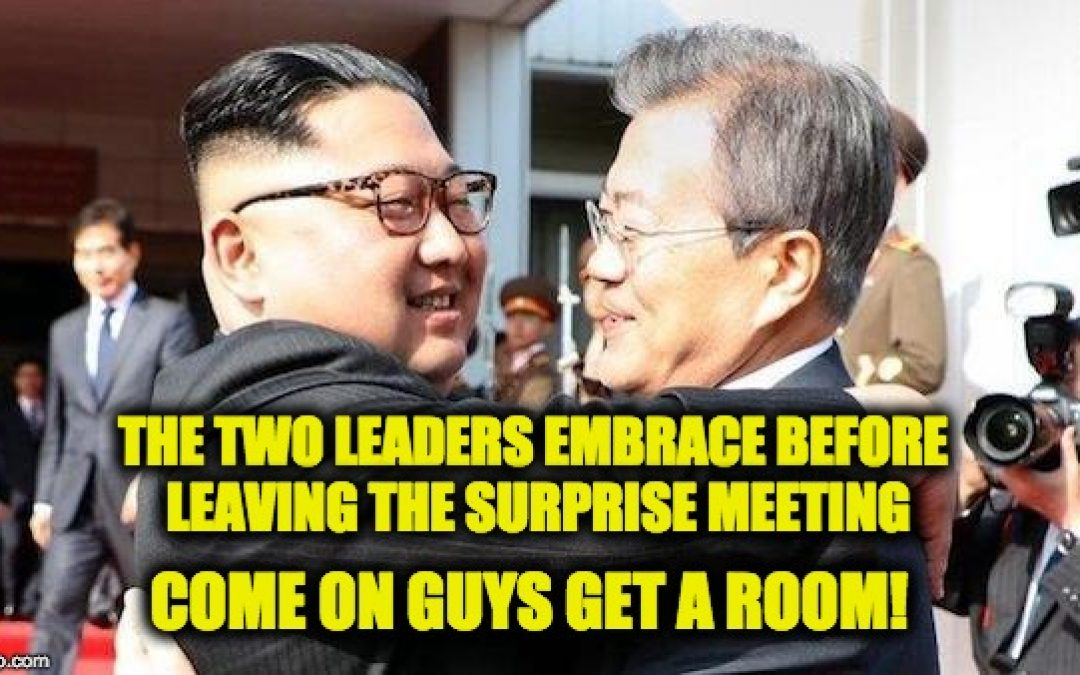 Kim Jung Un Has Surprise Meeting With South, Says He Will Denuclearize