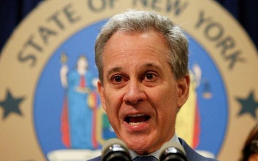 NY Attorney General Eric Schneiderman Resigns