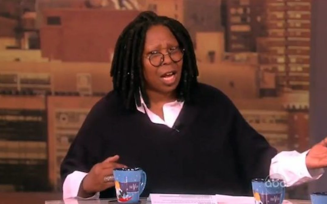 Please Don't Blame Us For Whoopi Goldberg's Anti-Trump Stupidity