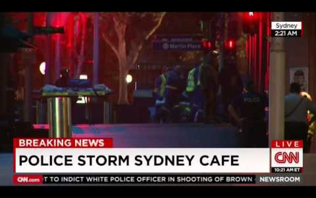 VIDEO: Police Storm Sydney Cafe Reports Are Two Dead, Three Gravely Wounded