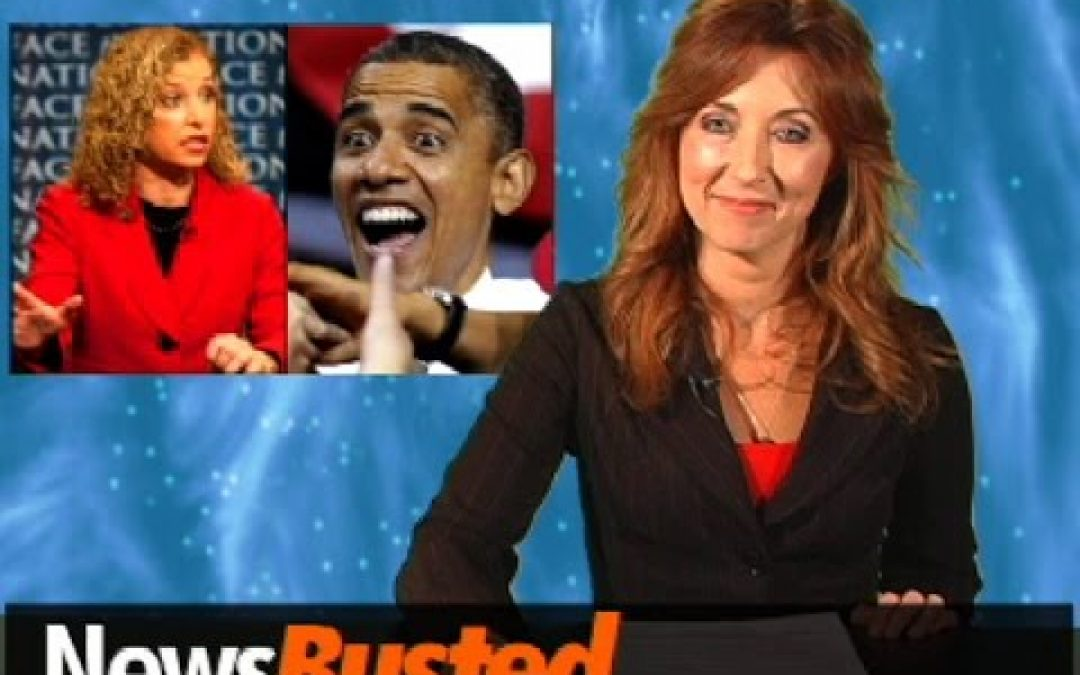Newsbusted: Debbie Wasserman Shultz Admits -Democratic Party's Problem's Name Is 'Barack'