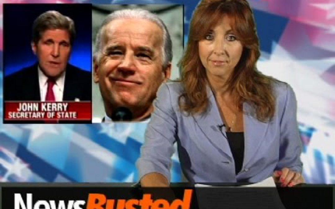 """Newsbusted: Gaffe-Laden Kerry's New Secret Service Name """"Joe Biden"""""""