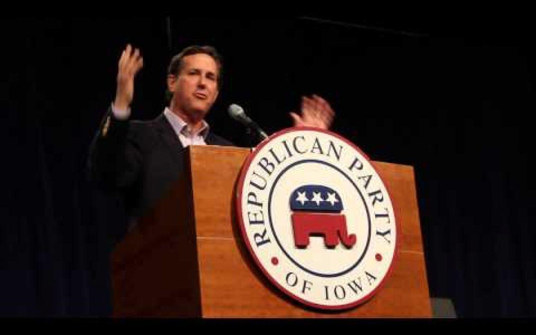"Does Karen Santorum Know That Rick Says Its Fun To ""Bang The President?"""