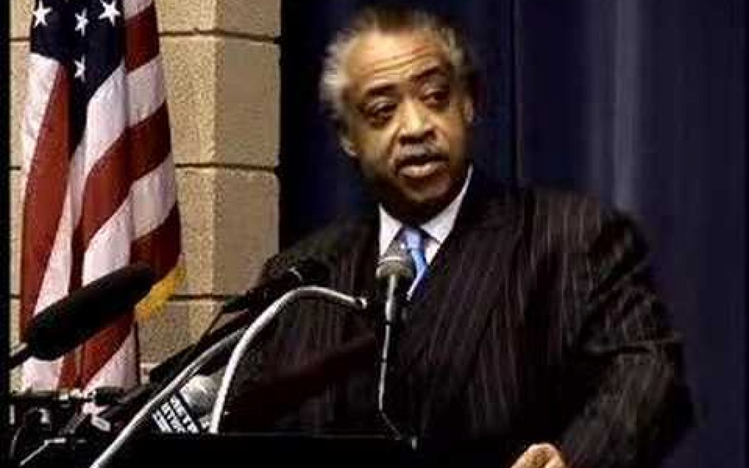 NAACP Substitutes One Racist For Another (Sterling For Sharpton)