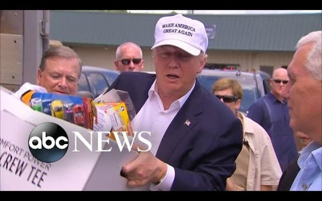 Trump Gave Out Much More Than Play Doh In Louisiana
