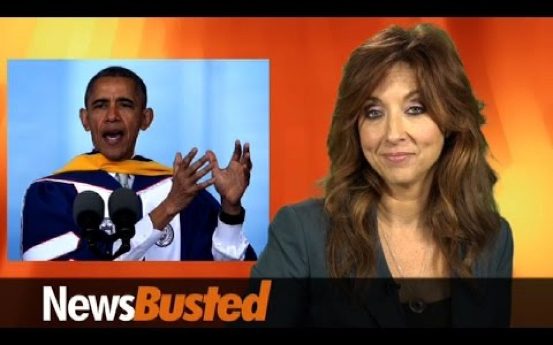Newsbusted: Obama To Graduates, 'Your Future Is Bright (Unless You Want Jobs)'