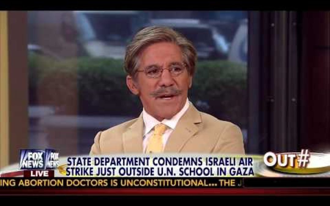 Palestinian Terror Apologist Geraldo Rivera Has No Right To Criticize Cruz