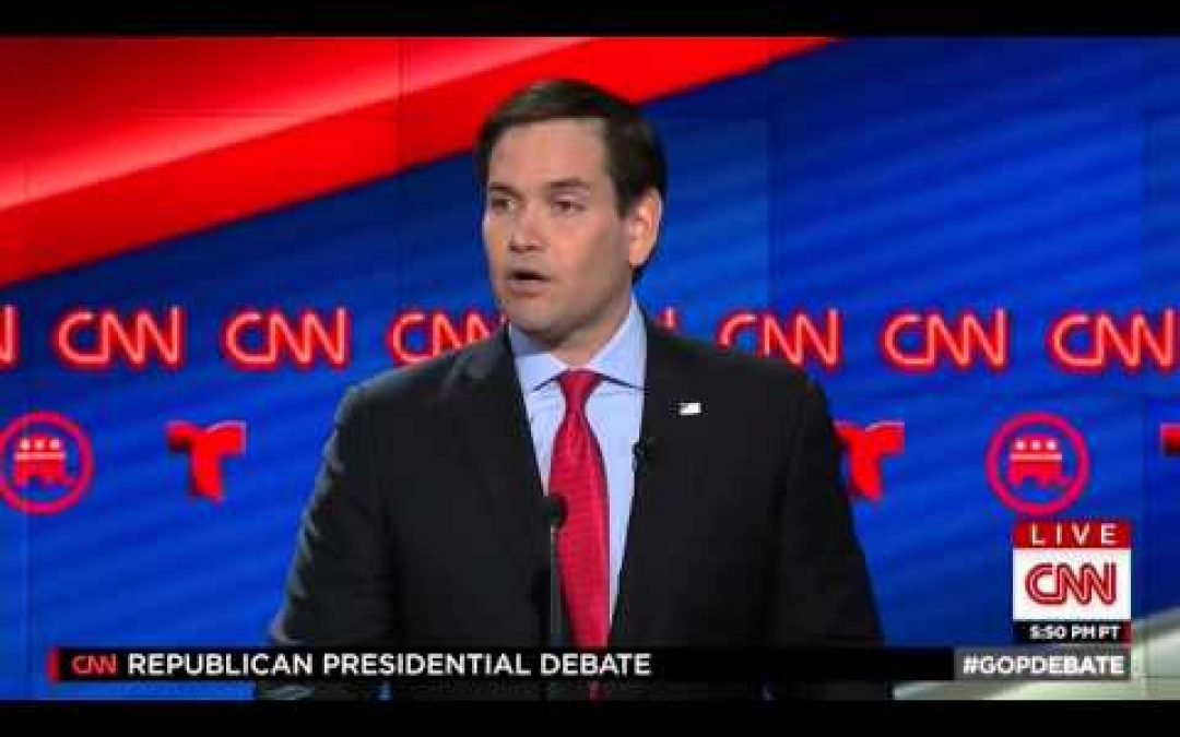 GOP Debate #10: Rubio Pummels Trump, But Will it Matter?