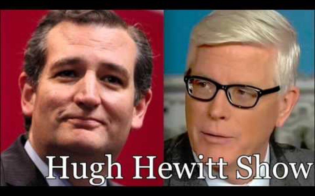 Ted Cruz Talks To Hugh Hewitt About The 'Liar' Charge