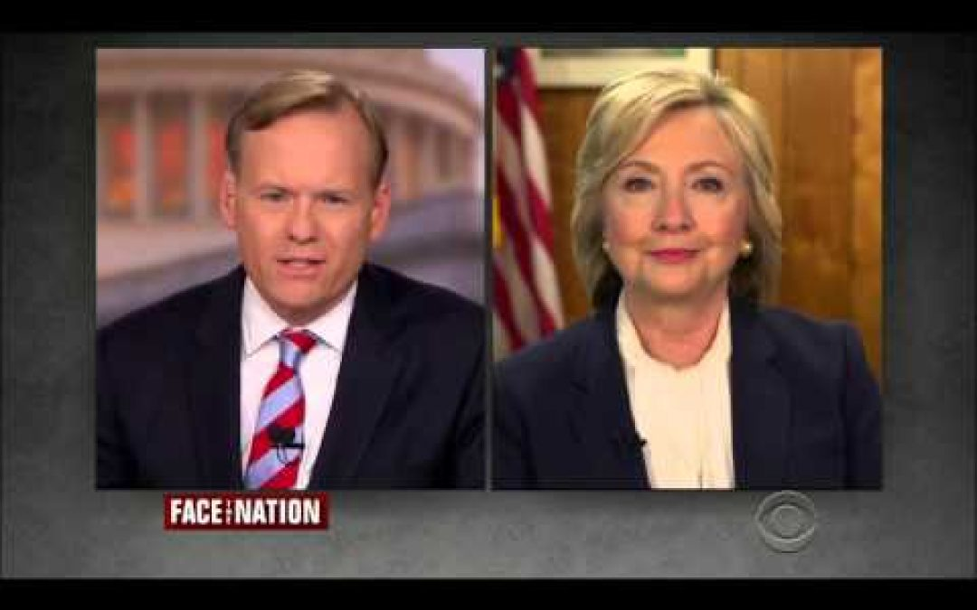 Clinton Gives Lame Excuse For Email Instructing Adviser To Ignore Security