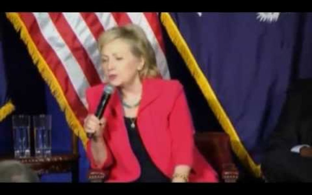 Hillary's Pandering Lie!  Writes Op-Ed On Jewish Site Claiming She Is Friend of Israel