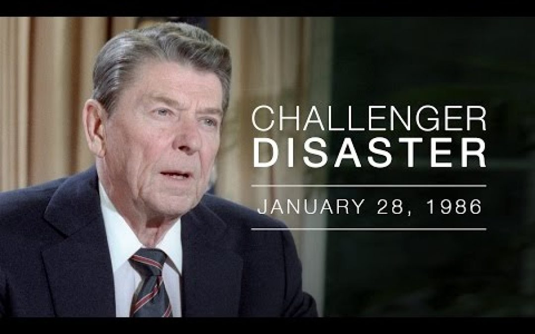 """Remembering When The Challenger """"Touch[ed] The Face of God"""" And America Had A Leader"""