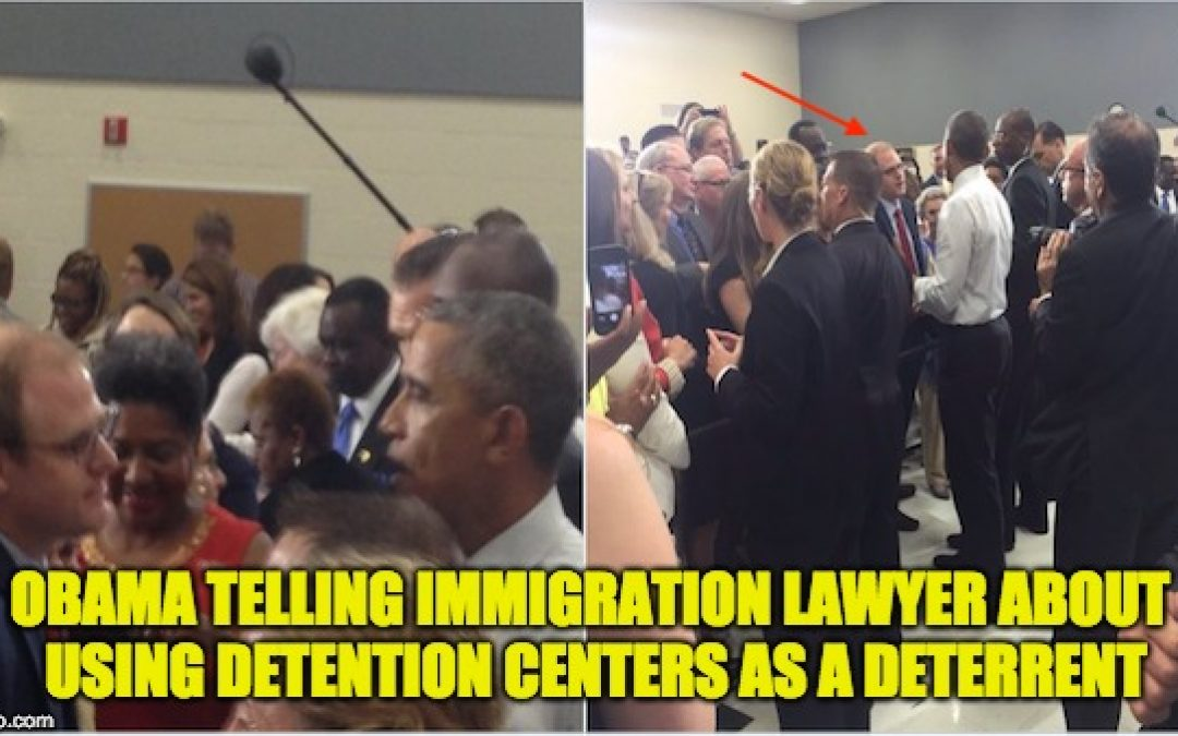 Liberal Immigration Lawyer Details How Obama HIMSELF Justified Family Separation