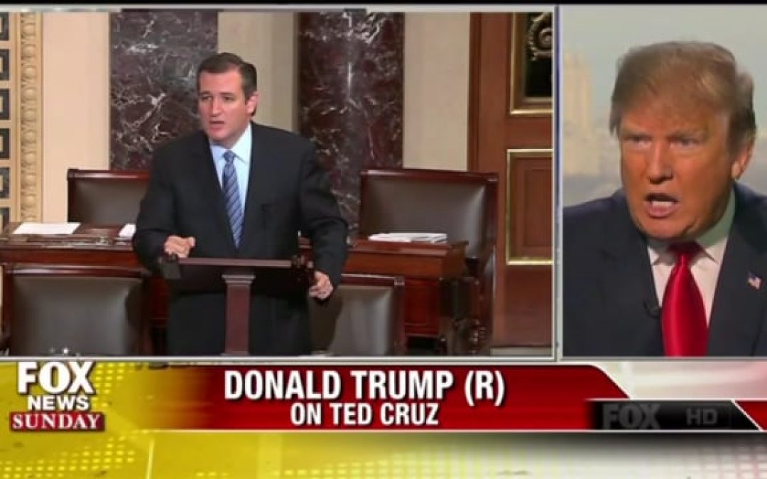 Teapot Calling the Kettle…? Trump Calls Cruz 'A Little Bit Of A Maniac'