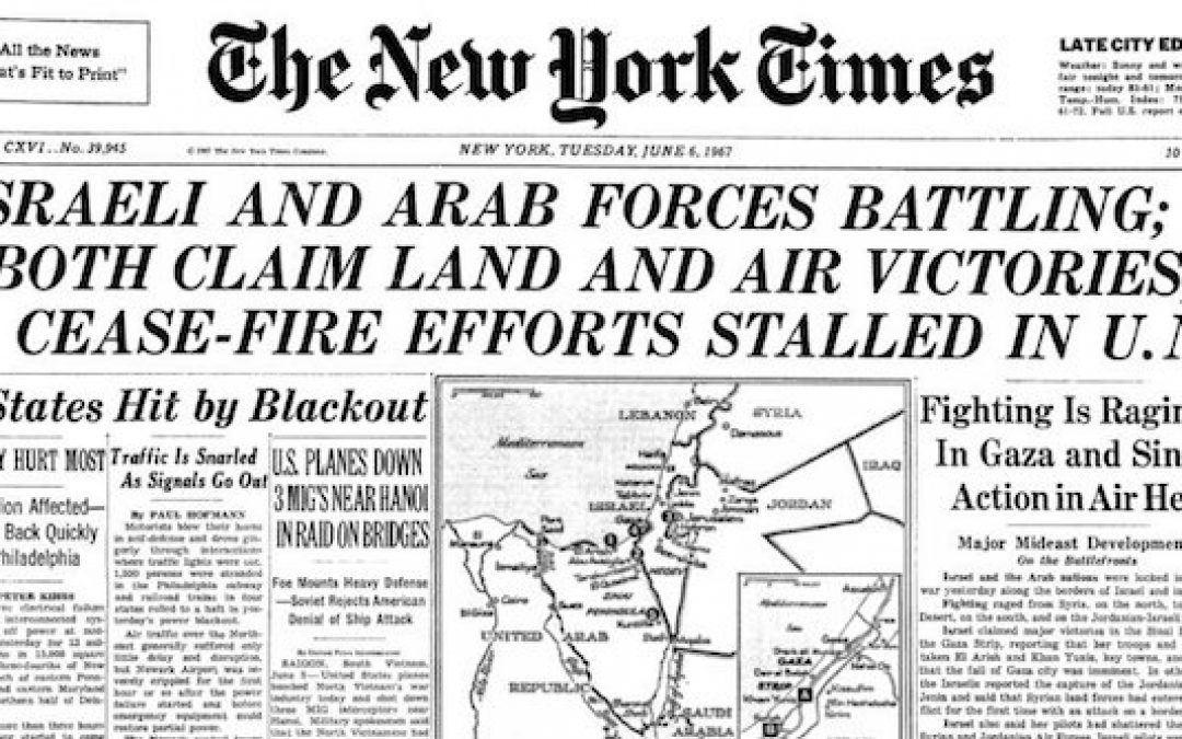 The Six-Day-War: June 1967, When Underdog Israel Changed The World